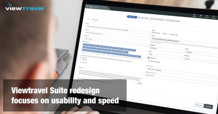 Viewtravel Suite Redesign