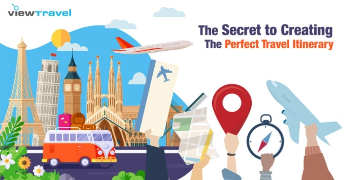 secret to creating the perfect travel itinerary