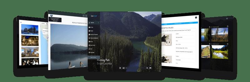 Viewtravel usage examples - Demo Travel Itinerary, Tour Program, Destination Presentation and Trip Proposal