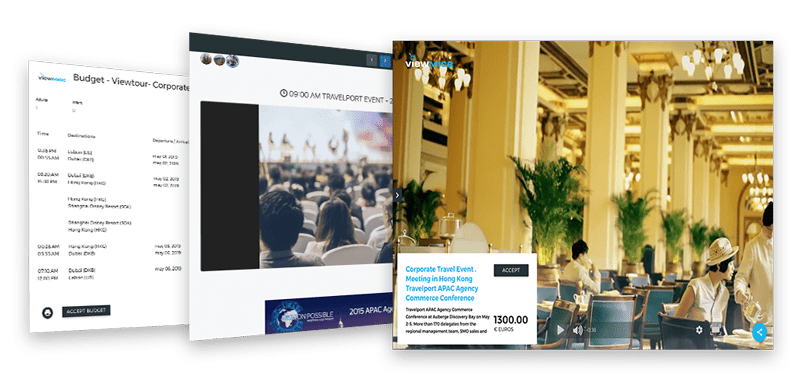 Viewmice Travelport Corporate Event / Conference
