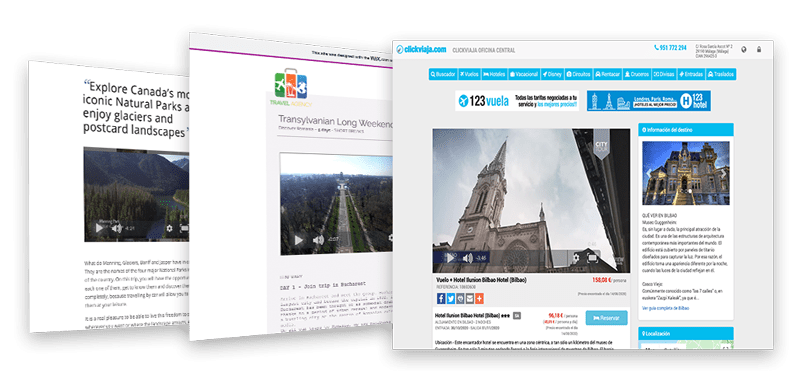 Viewtravel API and Iframe Website Integration