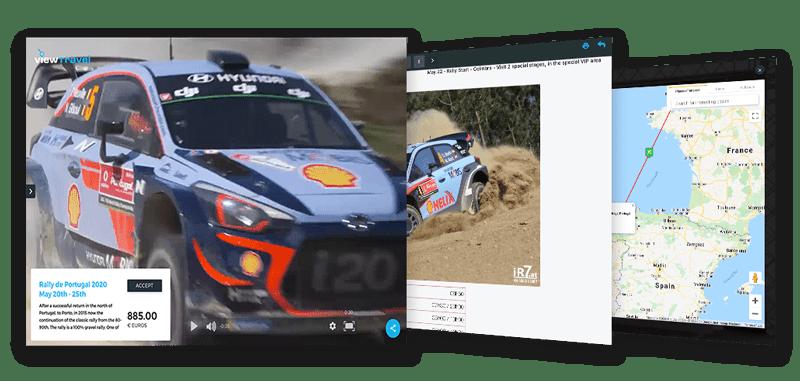 Viewtravel Theme - Rally de Portugal - Personalized Travel Programs
