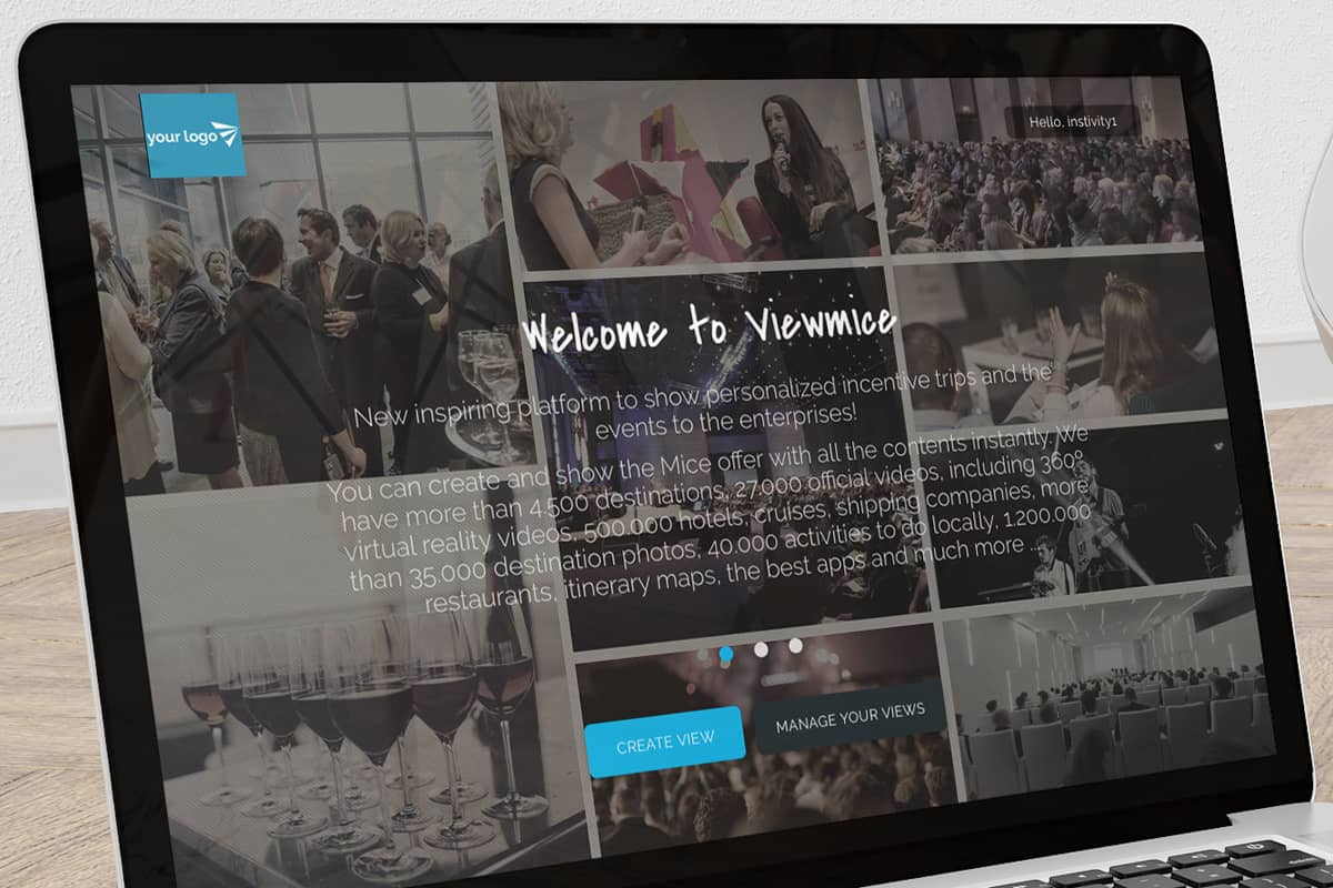 Add your own branding to Viewtravel for an impressive travel itinerary